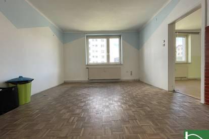 Unbefristete 3-Zimmer Wohnung mit Aufzug - BASTLERHIT!