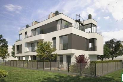 Traumhafter Wohnflair! Moderne Reihenhaushäfte mit großer Dachterrasse & Balkon - Top Lage!