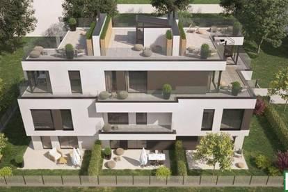 Top Designerhaus mit Blick zum Kahlenberg - top ausgestattete 5 Zimmer und große Terrasse