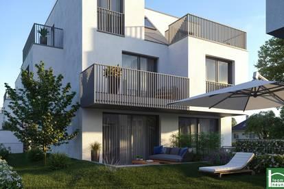 SCHAUEN SIE! - Exklusive Doppelhaushälften! Absolute Ruhelage Nähe Leopoldauer Platz! Großzügige Freiflächen