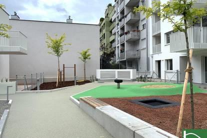 ERSTBEZUG! Moderner ca. 37 m2 Neubau mit ca. 11 m2 Loggia/Terrasse, 2 Zimmer, Komplettküche, Fußbodenheizung! U1 KENDLERSTRAßE!