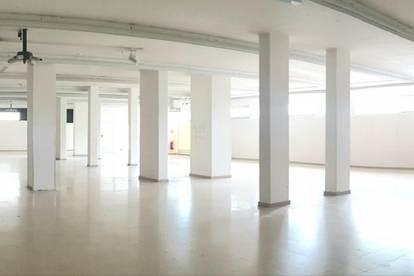 Geräumige BÜRO/PRAXIS oder ATELIERFLÄCHE! - TOPLAGE - Atelierfläche mit Lager & 2 WCs - PROVISIONSFREI!
