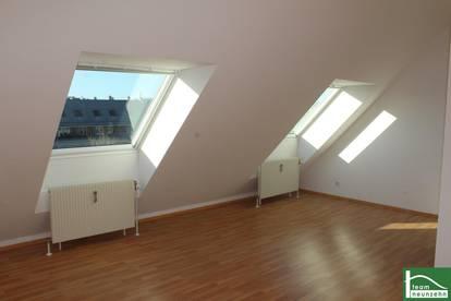 Helle Dachgeschosswohnung! Absoluter Wohntraum im gefragten 10. Bezirk! Freundliches Wohnambiente! Unbefristet!