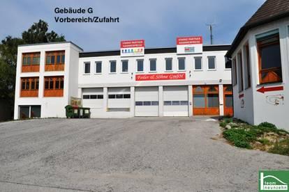 GEWERBEPARK DONNERSKIRCHEN - 10m2 - 1500m2! Lager, Werkstatt, Büro, Geschäft ab 25€ Netto/Monat! Zufahrt mit großen LKW's möglich