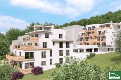 VORSORGEWOHNUNGEN Luxuriöses Wohnen bei Klosterneuburg , Donauterrassen Kritzendorf !