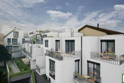 LEBEN NEBEN WEINGÄRTEN - Tolles PROJEKT in Mauer! Neubau mit hochwertiger Ausstattung! 23. Bezirk! 3 Zimmer + Terrasse/Gartenbereich!