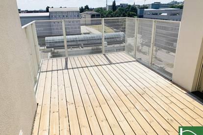 ERSTBEZUG! Moderner ca. 45 m2 Neubau mit ca. 11 m2 Loggia/Balkon, 2 Zimmer, Komplettküche, Fußbodenheizung! U3 KENDLERSTRASSE