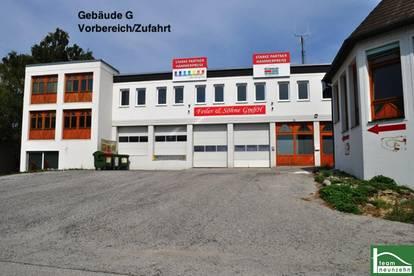!!GEWERBEPARK DONNERSKIRCHEN - 10m2 - 1500m2! Lager, Werkstatt, Büro, Geschäft ab 25€ Netto/Monat! Zufahrt mit großen LKW's möglich!!