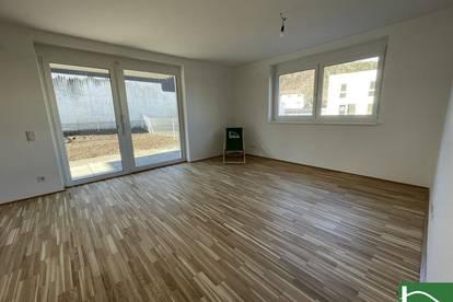 3-Zimmer Wohnung mit Balkon! Blick auf die Berge! ERSTBEZUG- Jetzt einziehen!