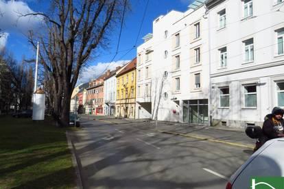 Im Herzen vom elitären III. Grazer Stadtbezirk gelangen 2 Eigentumswohnungen und ein Geschäftslokal zum Verkauf.