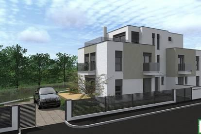 Luxus PUR- Top Anbindung zur U1- Ziegelmassiv- Designerhaus, große Sonnenterrasse. Keller