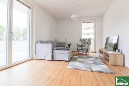 Geniale Erstbezugswohnung mit großer Wohnküche und 2 Schlafzimmern ~ herrliche Panoramaterrasse ~ provisionsfrei!