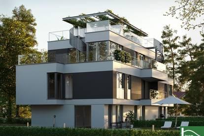 Moderne Reihenhaushäfte- Coole Dachterrasse - Nähe Donauinsel, Kahlenbergblick.!