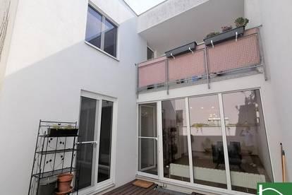 Ruhelage und dennoch perfekte Anbindung - U2 Aspernstraße - Tolle Raumgestaltung - Keller mit viel Platz