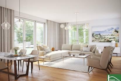 5 Zimmer + Terrasse + 290m2 Gartenbereich + Balkon!! INVESTMENT NEBEN WEINGÄRTEN - Tolles PROJEKT in Mauer! Neubau mit hochwertiger Ausstattung! 23. Bezirk!!