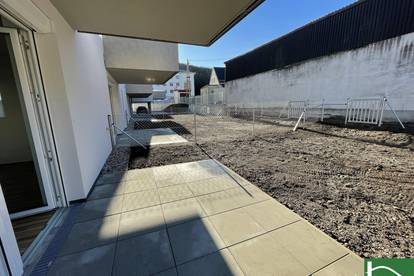 TOP LAGE! ERSTBEZUG! - 3-Zimmer HIT mit Garten! Perfekt für Pendler durch die Bahnhofsnähe!