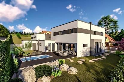 So LEBEN Stars- Luxus PUR, Top Ausstattung- Villa mit Pool, Doppelgarage, Garten! WOHNTRAUM