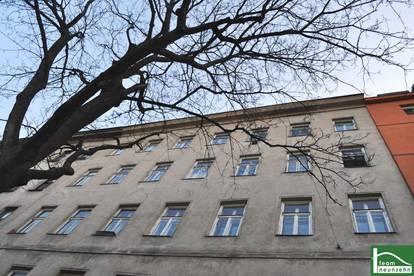 Renovierungsbedürftige 2-Zimmer Wohnung! Altbau! Beim Donaukanal! Tolle Lage mit guter Anbindung!