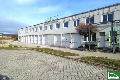 TOP-PREIS! mit Nassräumen! Lagerhalle / Werkstatt! 400m²! ca. 10min bis Eisenstadt!