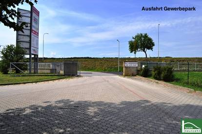 TOP! Lagerhalle / Werkstatt - 400 m² - ca. 10 min bis Eisenstadt + Nassräume!