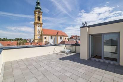 Wunderschöne Dachterrassenwohnung in Grünlage!