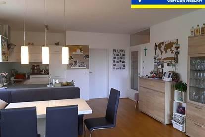 Moderne Wohnung mit großer Dachterrasse und Traunsteinblick inkl. TG-Abstellplatz