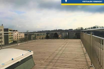 ERSTBEZUG! Traumhafte & lichtdurchflutete DG-Wohnung mit 70m² großer Dachterrasse - Genießen Sie den Weitblick!