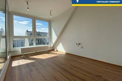 Erstbezug | Lichtdurchflutete Wohnung mit 10m² großer Loggia   (mieten oder kaufen)