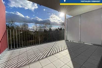 Neubau! Schlüsselfertig! Provisionsfrei! Moderne & helle 3 Zimmer-Wohnung mit Balkon & Tiefgaragen-Parkplatz