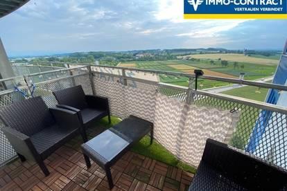 Familientraum mit Weitblick! Moderne und freundliche 4-Zimmer-Wohnung mit Loggia und Balkon