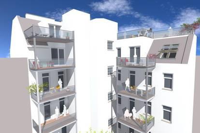Hochwertig ausgeführte Dachgeschosswohnung mit XXL Balkon !! Erstbezug!