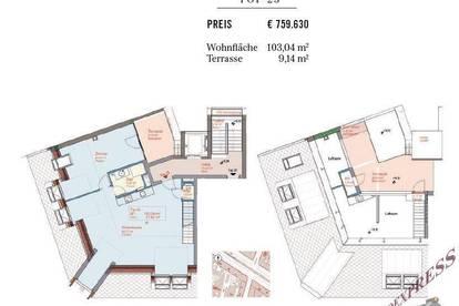Top Dachgeschoß Wohnung Erstbezug , möbliertes Apartment mit hoher RenditenChance !