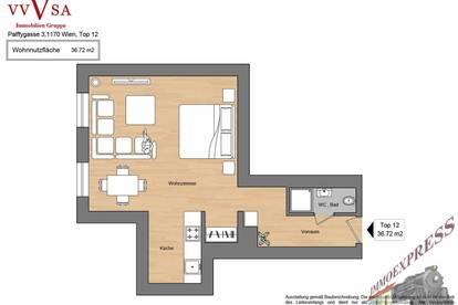 Perfekt aufgeteilte, sonnige 1 Zimmerwohnung in zentraler Lage, Ottakringer Straße