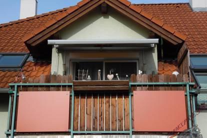 Sollenau sonnige zentrale 3 Zimmer Topküche, Balkon, Parkplatz,südseitige Grünruhelage