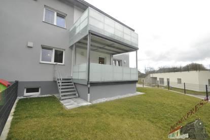 Neubau Wohnung mit großem Garten Nähe Loosdorf Technik