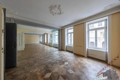 Geschäftslokal/ Büro, Ordination, Kaiserstraße, 1070 Wien, sanierungsbedürftiger Altbau , 407m² Nutzfläche, hofseitig / straßenseitig, 12 Zimmer