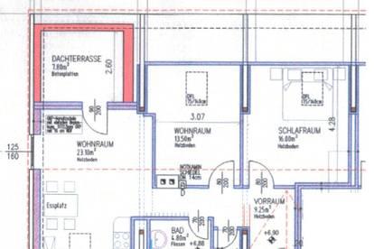 Dachterrassenwohnung in Krems - WG-geeignet - PROVISIONSFREI