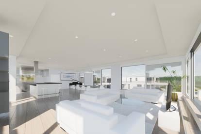 Luxus-Penthouse mit 196 m² Terrasse mit Seeblick am Golfplatz - PROVISIONSFREI