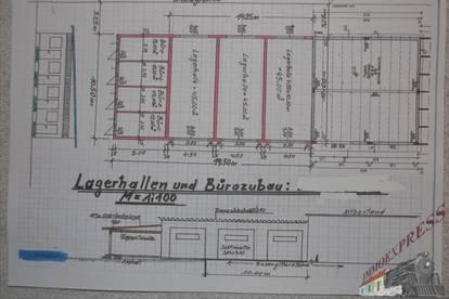 Sehr gut gelegene Garagenbox / Lager NEUBAU in Fischamend - Nähe Flughafen Wien Schwechat