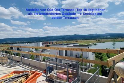 Luxus-DG-Wohnung Top 48 mit 76 m2 Terrasse mit Seeblick am Golfplatz - PROVISIONSFREI