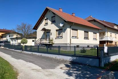 Markt Allhau - Großes gepflegtes Einfamilienhaus mit 3 Garagen