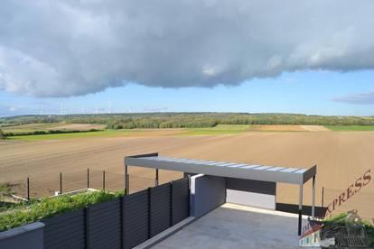 Sehr gut und ruhig gelegene neu erbaute Doppelhaushälfte mit Swimmingpool 7 Kilometer von Gänserdorf entfernt zu vermieten