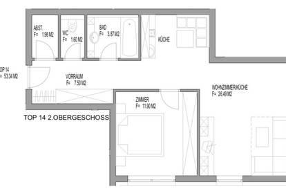 Anlegerwohnung mit ca. 53 qm Wohnfläche in Zwieselstein zu verkaufen! TOP 14