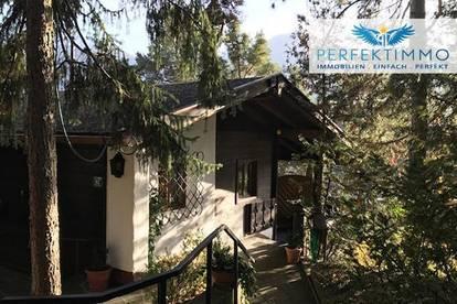 Sonniges 541 qm großes Grundstück mit Wochenendhaus in Axams/Omes zu verkaufen!