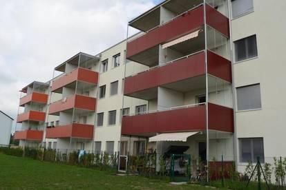 moderne geförderte Wohnung zentral in Traun mit Garten