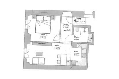 Hall in Tirol: 2-Zimmer-Wohnung zur Vermietung!