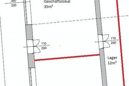 2273 Hohenau Geschäftslokal in guter Lage im schönem Weinviertel