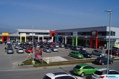Neuwertige Gastro-, Einzelhandel- und Büroflächen im Fachmarktzentrum