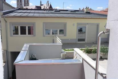Tolle Maisonettewohnung mit 35 m² Terrasse!