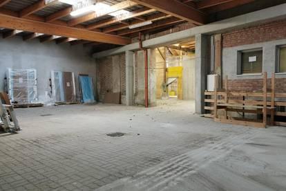Lagerhalle mit beheizbarer Garage oder Werkstatt
